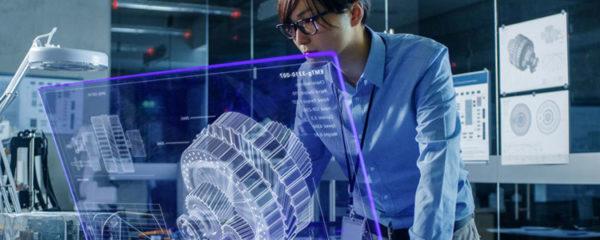 Technologie holographique